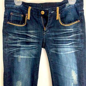 Seven for Mankind Swarovski jeans